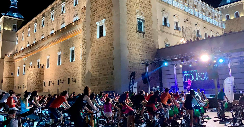 Toledo cierra con la 'Noche Beactive' una Semana Europea del Deporte histórica