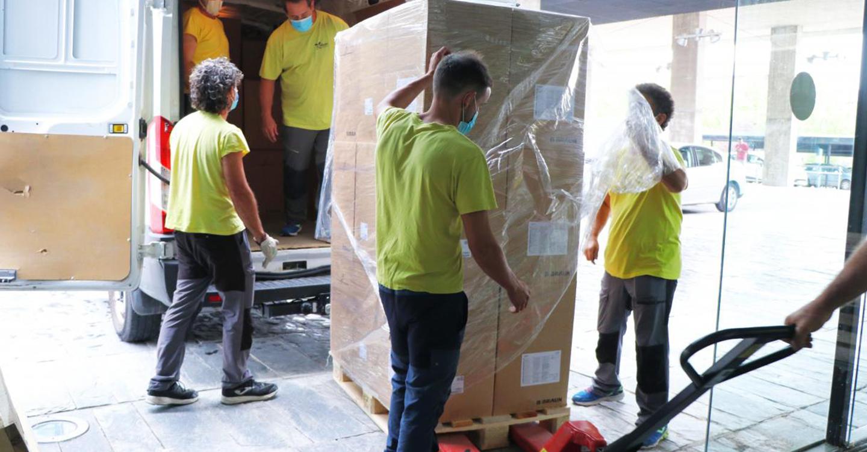 El Gobierno de Castilla-La Mancha supera los 52,5 millones de artículos de protección enviados a los centros sanitarios desde el inicio de la pandemia