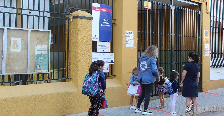 El 70 por ciento de los centros educativos de la región podrán abrir sus puertas de manera presencial mañana miércoles