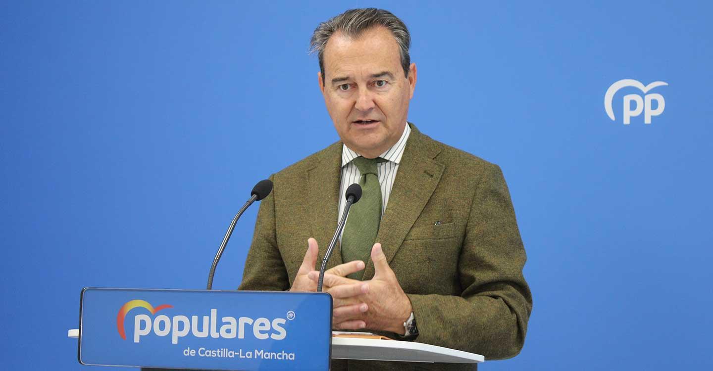 """Conde ensalza los principios y valores que defiende el PP con un """"contrato ideológico"""" con los castellanomanchegos que se dará a conocer en el XV Congreso Autonómico del PP-CLM"""