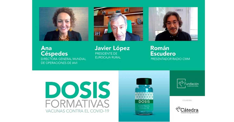 Ana Céspedes en las 'Dosis Formativas' de Fundación Eurocaja Rural:
