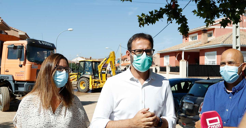 """Gutiérrez subraya que los Gobiernos de CLM y España van a estar """"a la altura"""" para ayudar a los afectados por el temporal"""