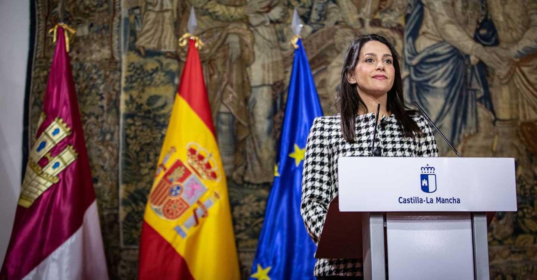 """Arrimadas destaca que Cs en Castilla-La Mancha tiene un papel muy relevante """"como partido de Gobierno"""""""