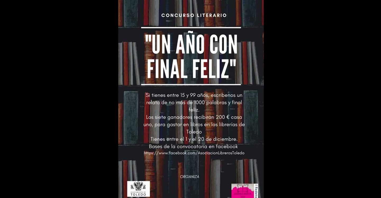 Cerca de 200 autores participan en el certamen literario 'Un año con final feliz' de la Asociación de Libreros y el Ayuntamiento de Toledo