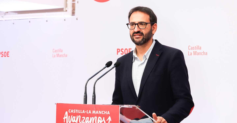 """Gutiérrez destaca la """"avalancha"""" de avales a Page, que se traduce en un liderazgo """"fuerte"""" para """"defender por encima de todo a CLM"""""""