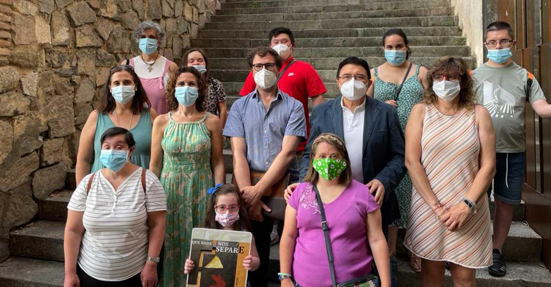 El Ayuntamiento de Toledo apoya la muestra 'Que nada nos separe' de Down Toledo y anima a visitarla hasta el próximo 29 de agosto