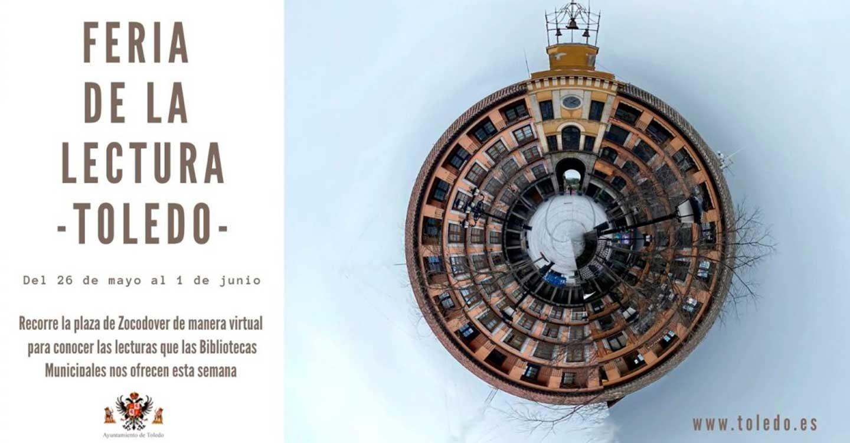 El Ayuntamiento de Toledo pone en marcha la Feria de la Lectura que llega a la plaza de Zocodover virtual