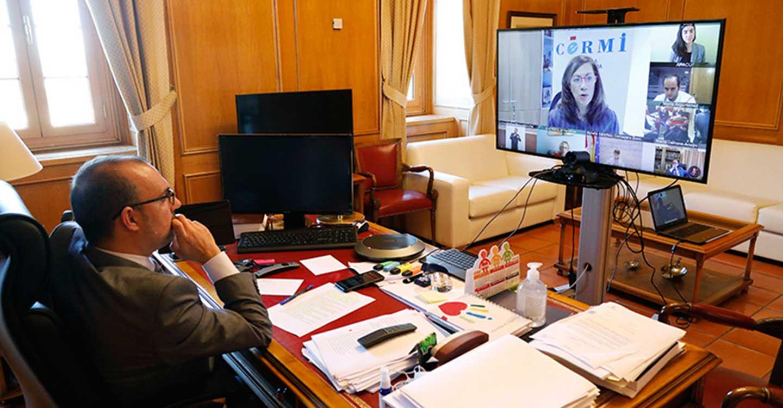 """Bellido confía en que esta legislatura en las Cortes regionales """"se recuerde por los avances"""" para personas con discapacidad"""