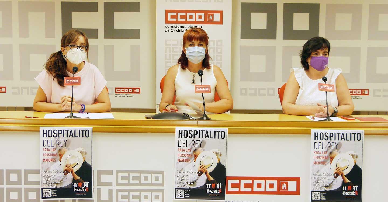 CCOO CLM aboga por la calidad del empleo y de la prestación de los servicios en los centros de atención a personas mayores