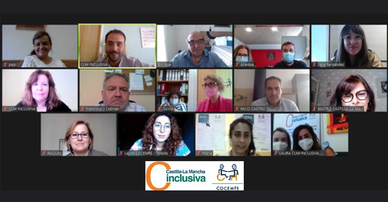 CLM INCLUSIVA COCEMFE refuerza su cartera de servicios para ayudar al movimiento asociativo de personas con discapacidad física y/u orgánica.
