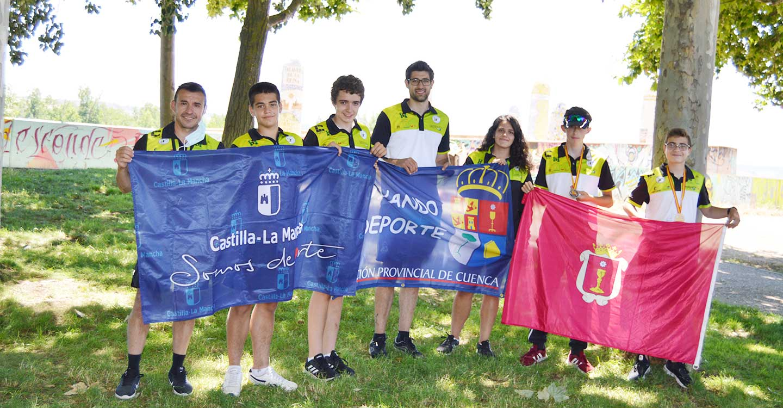 El Club Piragüismo Cuenca con Carácter logra tres oros en el Campeonato de España de Media Maratón