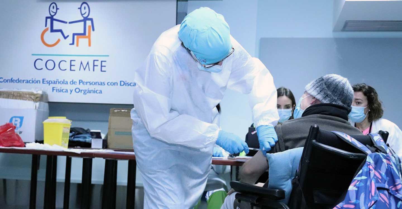 CLM INCLUSIVA COCEMFE reclama que las personas con discapacidad física y orgánica  sean prioridad en la estrategia de vacunación COVID-19