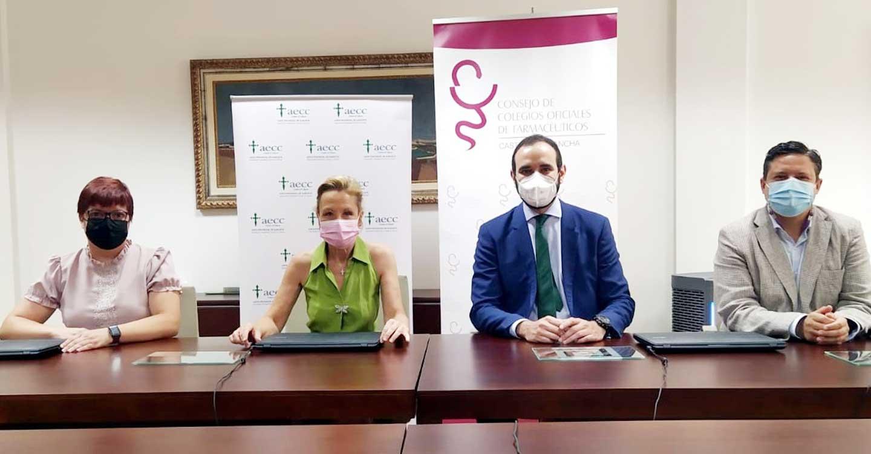 El COFCAM y la AECC de Castilla-La Mancha firman un convenio de colaboración para realizar acciones conjuntas