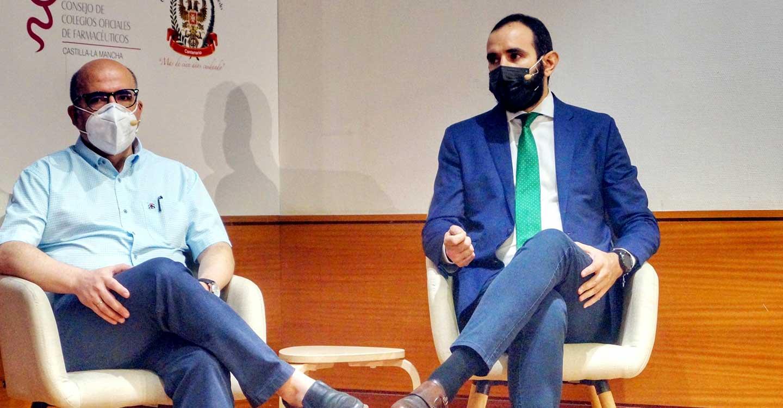 """Francisco Izquierdo: """"Los farmacéuticos de CLM hemos contribuido a que aumente la tasa de vacunación, dando rigurosa información a los pacientes"""""""