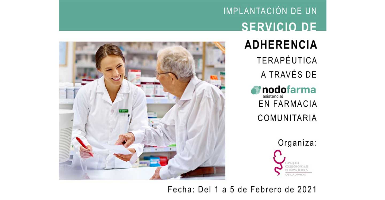 El COFCAM impartirá en febrero la formación para implantar el Servicio de Adherencia Terapéutica en las farmacias de Castilla-La Mancha