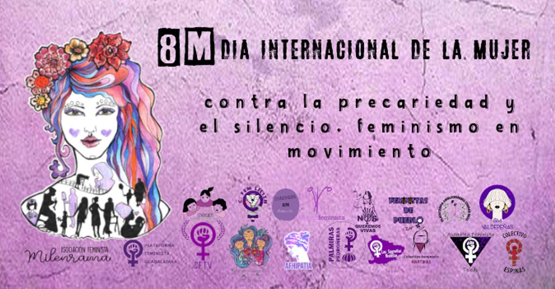Colectivos Feministas de Castilla-La Mancha afirman que celebrarán el Día Internacional de la mujer con actividades compatibles con las restricciones impuestas por la pandemia