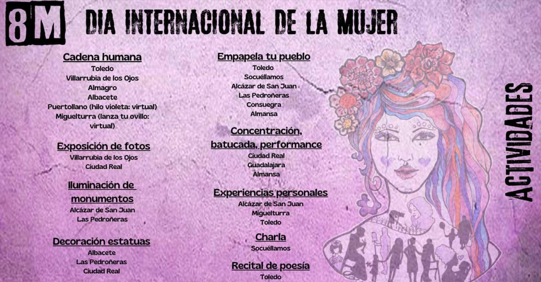 Colectivos Feministas de Castilla-La Mancha en contra de la prohibición de concentraciones feministas en Madrid