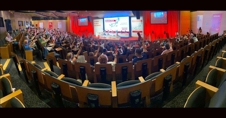 El Congreso de Comisiones Obreras Castilla-La Mancha aprueba el informe de gestión de la Ejecutiva saliente con el 95% de los votos
