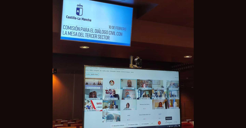Constituida la comisión para el diálogo civil del Tercer Sector con el Gobierno de Castilla-La Mancha