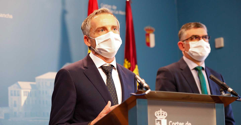"""Contreras: """"Abrir el Hospital de Toledo es un hecho para reconocerlo tanto a este Gobierno como a toda la sociedad en general"""""""