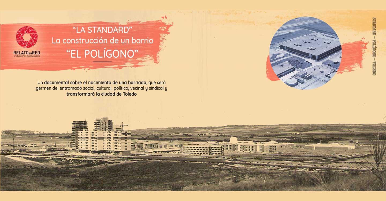 """El cortometraje 'La Standard. La Construcción de un barrio' busca financiación: """"La historia que queremos contar no es la de una fábrica sino la de un barrio que pasó de ser un solar a ser una de las zonas con más vida de Toledo"""""""
