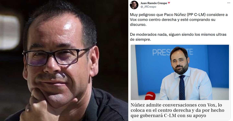 "Crespo (IU) acusa a Núñez de ""ultra"" después de que este admita conversaciones con Vox"