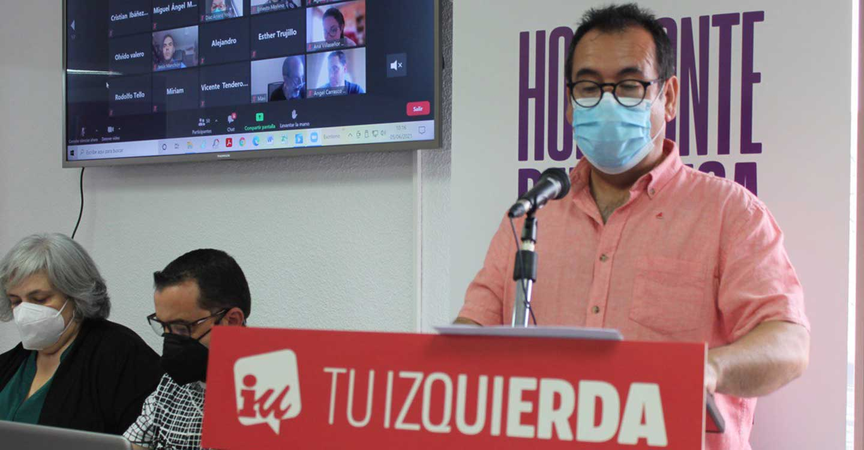 Crespo pone en valor a Yolanda Díaz y Unidas Podemos con los ERTE y las ayudas a empresas en C-LM