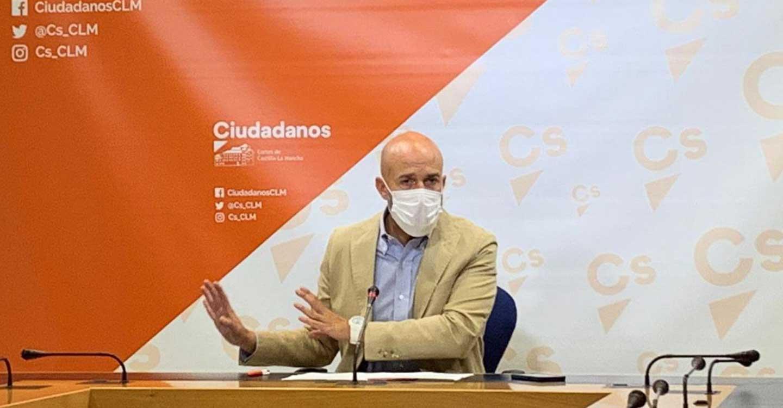 """Ciudadanos denuncia """"anomalía democrática"""" en Castilla-La Mancha: """"somos la única comunidad en España cuyo presidente no se somete al control parlamentario"""""""