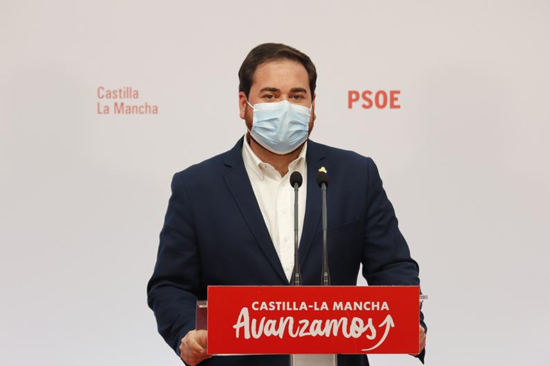 """El PSOE celebra la bajada histórica del paro: """"El Gobierno de Page está siendo capaz de liderar la recuperación económica"""""""
