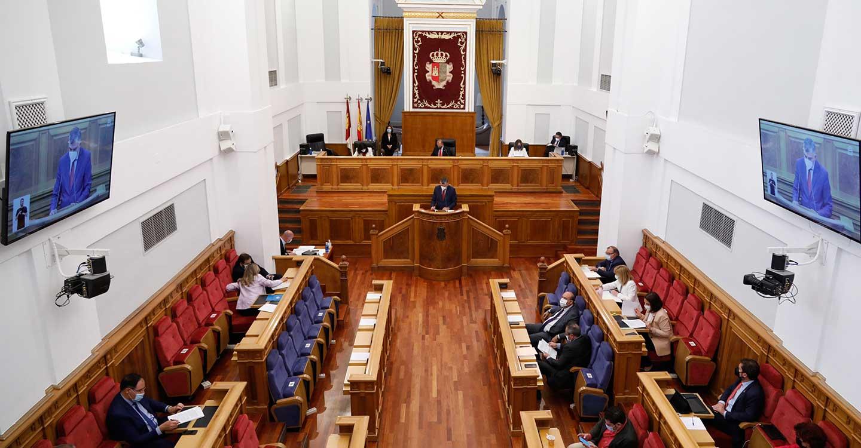 Declaración institucional de las Cortes de Castilla-La Mancha por la vacunación universal contra la covid-19