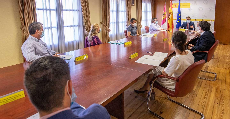 El delegado del Gobierno trata de dar impulso a todas las áreas integradas en la Delegación tras estas semanas de crisis y ante la nueva etapa