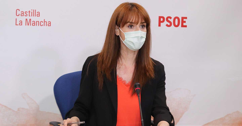 """Diana López : """"Que el PP de CLM traicionara el Pacto Regional del Agua es el peaje de Núñez a Casado y Egea para mantenerse en el cargo"""""""
