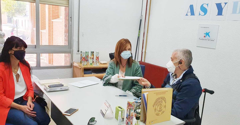 La Diputación de Toledo respalda a la Asociación Síndrome