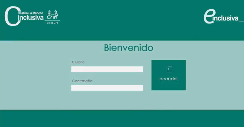 CLM INCLUSIVA COCEMFE ultima el lanzamiento de la Plataforma Digital y APP, E-INCLUSIVA