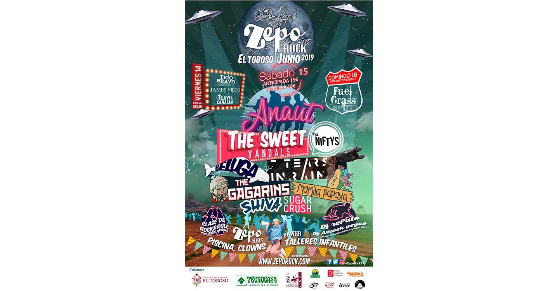 El Festival Zeporock lanza el cartel más atrevido en su sexta edición