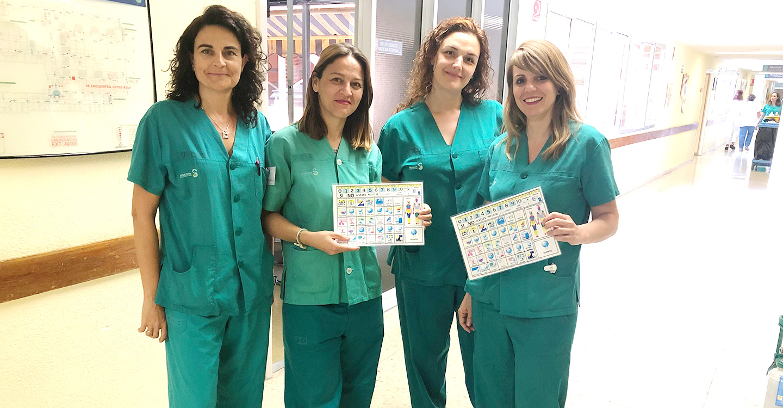 El servicio de Medicina Intensiva del Hospital de Toledo utiliza pictogramas para pacientes con dificultad de comunicación