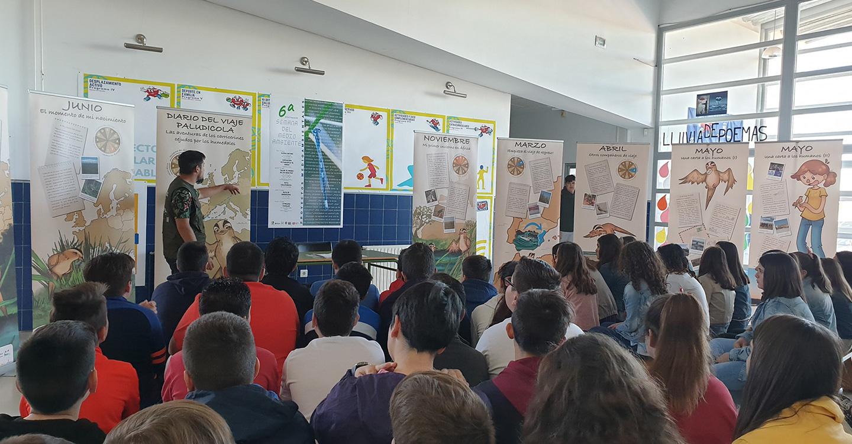 Escolares de Villafranca de los Caballeros conocen la importancia de conservar el Carricerín cejudo