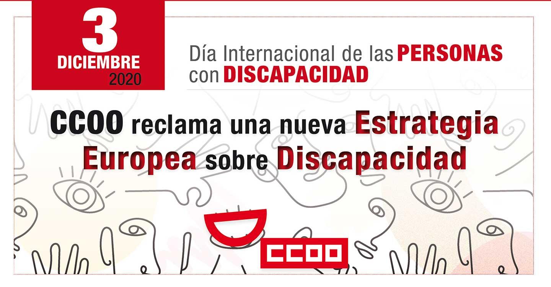 CCOO reclama una nueva Estrategia Europea sobre Discapacidad