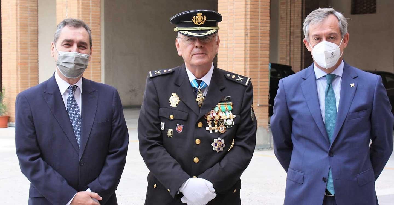 Eurocaja Rural acompaña al Cuerpo Nacional de Policía en la celebración de su patrón