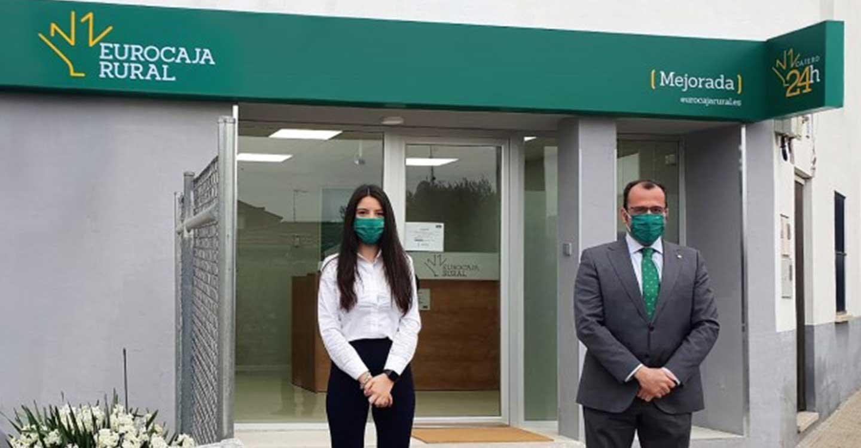 Eurocaja Rural, fiel a su compromiso ante el reto demográfico, abre una nueva oficina en Mejorada