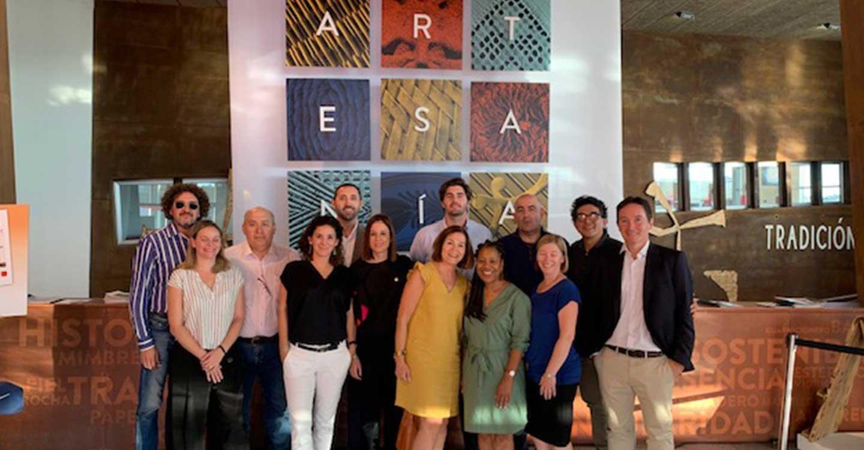 FARCAMA recibe una delegación de compradores de tiendas de museos y arquitectos internacionales del sector del 'contract' de la mano del IPEX