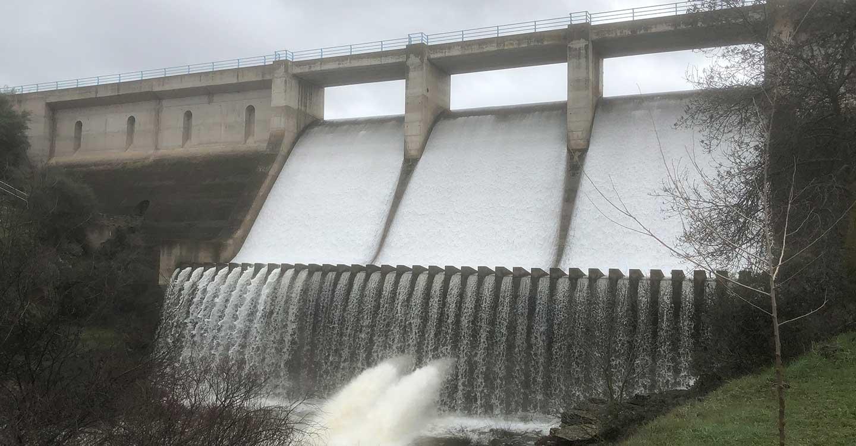 Finalizadas las obras de implantación del Plan de Emergencia de la presa del Gévalo con una inversión cercana al medio millón de euros