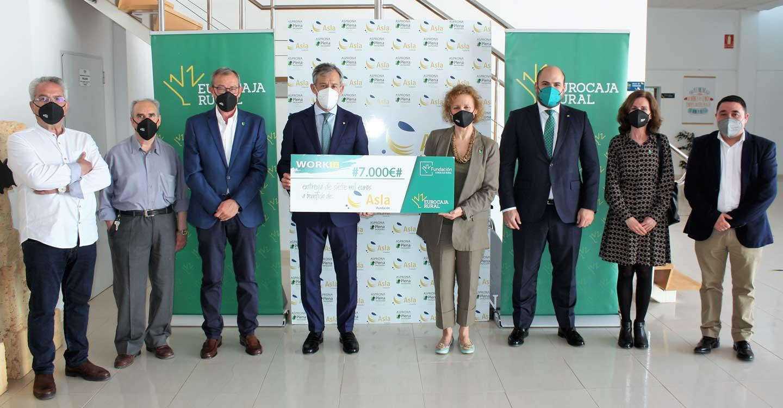 Fundación ASPRONA Laboral recibe su premio 'WORKIN' por la capacidad de adaptación de sus líneas de negocio post-Covid