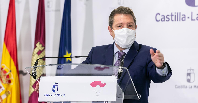 Emiliano García-Page celebra la caída histórica del paro en la región que cuenta con 20.000 desempleados menos que en el inicio de la pandemia