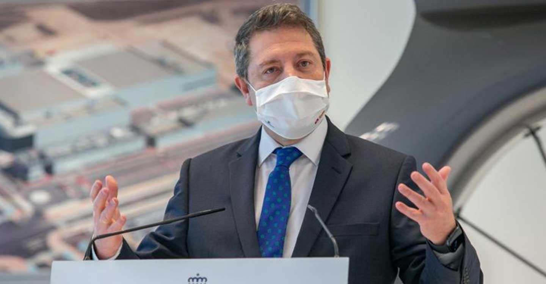 García-Page preside un protocolo con la Fundación CEOE para que las empresas colaboren en la vacunación masiva