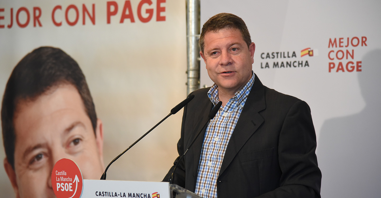 García-Page reitera su intención de abordar una estrategia específica que impulse la industria regional