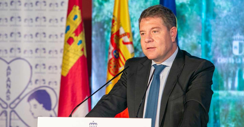 García-Page anuncia que mañana se inicia el trámite de consulta pública de la nueva Ley de Atención Temprana