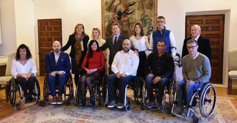 El Gobierno de Castilla-La Mancha financia las sillas de ruedas del equipo 'Carpetanos Quad Rugby' de Toledo