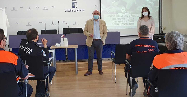 El Gobierno de Castilla-La Mancha ofrece formación básica sobre atención sanitaria a 56 integrantes de agrupaciones de Protección Civil de Castilla-La Mancha