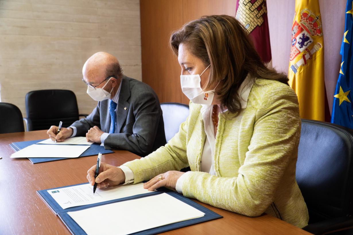 El Gobierno de Castilla-La Mancha y Fundación Globalcaja firman un convenio para mejorar e impulsar la FP Dual